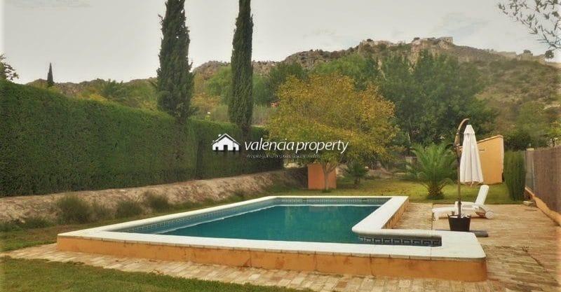 Villa indépendante 4 chambres à coucher, piscine, à Xativa