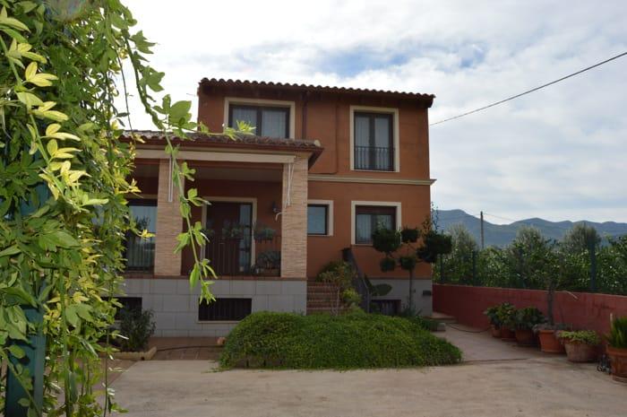 Villa, 5 chambres, piscine entre orangers, près de Xàtiva