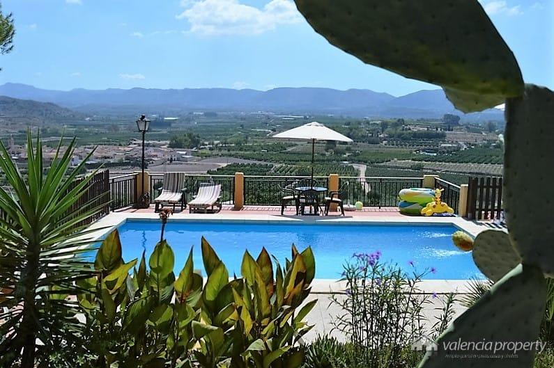 Villa avec une vue imprenable, très privé, à Xativa