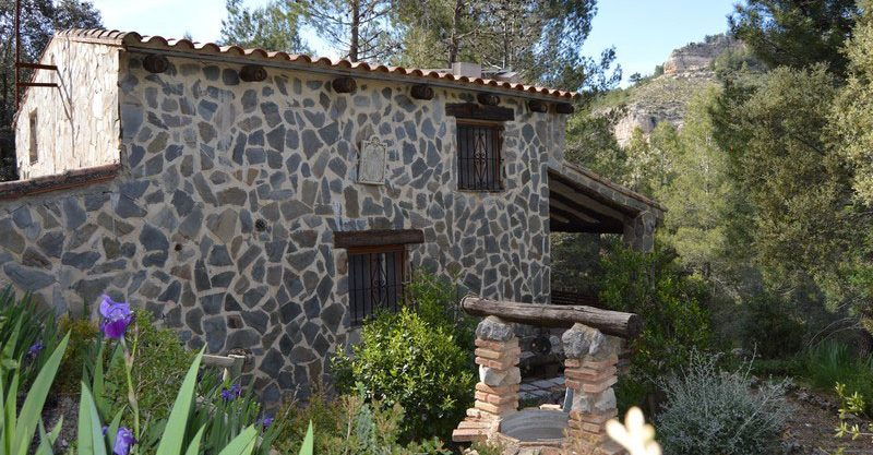 """Cottage in the mountains of the """"Sierra de Enguera"""", lovely"""