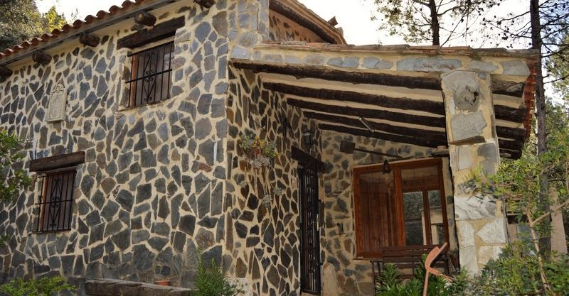 "Cottage in the mountains of the ""Sierra de Enguera"", lovely"